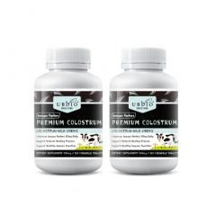 [유비바이오] 뉴질랜드 초유 플러스(딸기맛) / IgG 20~25% 500mg 360정 2개