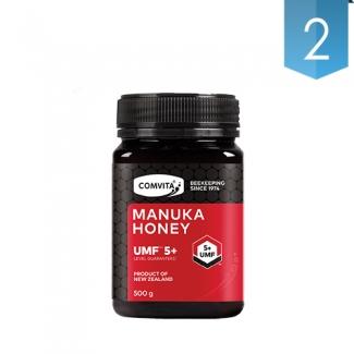 [콤비타] 뉴질랜드 마누카꿀 UMF5+ 500g 2개