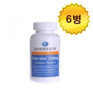 [샌더슨] 에스터 플렉스 비타민C 1150mg 165s 6개