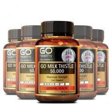 [고헬씨] 밀크시슬 50000mg 60베지캡슐 6개