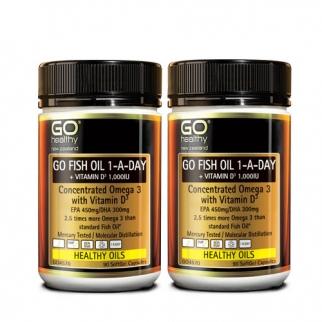[고헬씨] 하루한알 오메가3+비타민D 90 소프트젤 캡슐 2개