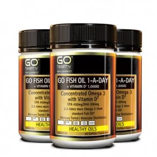 [고헬씨] 하루한알 오메가3+비타민D 90 소프트젤 캡슐 3개
