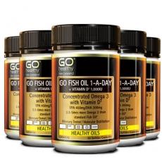[고헬씨] 하루한알 오메가3+비타민D 90 소프트젤 캡슐 6개