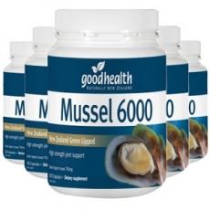 [굿헬스] 그린머슬 6000mg 300캡슐 6개