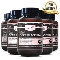 [유비바이오] 플라센타 (사슴태반/이너뷰티) 120베지캡슐 6개
