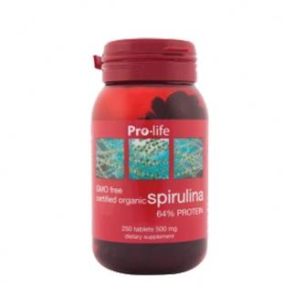 [프로라이프] 스피루리나 500mg 250정 1개