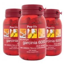 [프로라이프] 가르시니아 6000 100정 3개