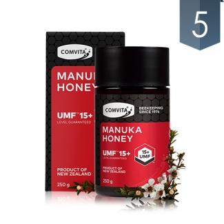 [콤비타] 뉴질랜드 마누카 하니 UMF15+ 250g 5개