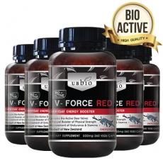 [유비바이오] 브이포스 레드(녹용,녹혈) 500mg 360tab 6개 / 피로회복