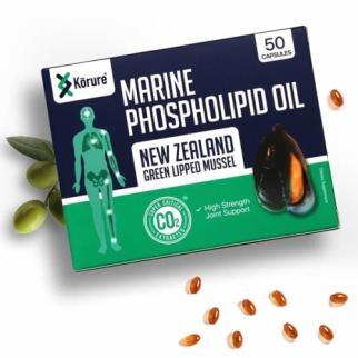 [코루레] 뉴질랜드 초록입홍합 오일 50정 1개(관절강화)