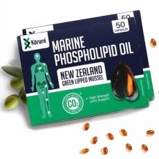 [코루레] 뉴질랜드 초록입홍합 오일 50정 2개(관절강화)