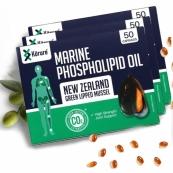 [코루레] 뉴질랜드 초록입홍합 오일 50정 3개(관절강화)