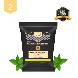 [유비바이오] 마누카 로젠지 민트 150g 2봉