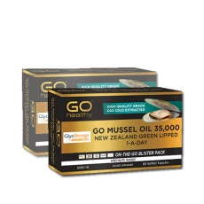 [고헬씨] 뉴질랜드 프리미엄 머슬오일 35000 60캡슐 2개