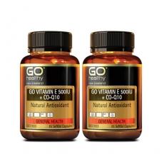 [고헬씨] 비타민E 500IU + 코엔자임 큐텐 130 소프트젤 캡슐 2개