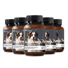 [펫 아일랜드] 데일리 멀티 비타민 (휴먼 그레이드/강아지 영양제) 45캡슐 6개